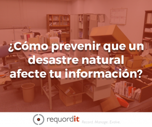 desastre natural información