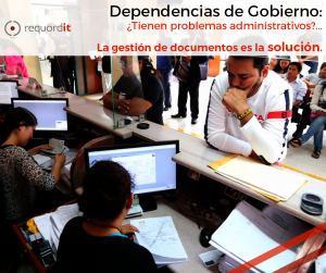 gestion de documentos gobierno